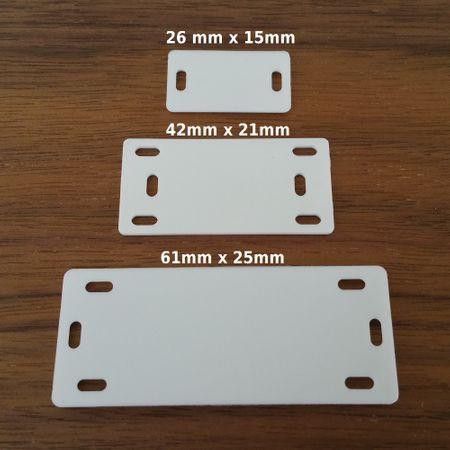 Markierplättchen für Kabel verschiedene Größen – Bild 2
