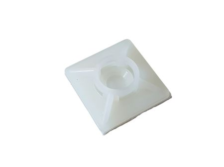 Self adhesive mount, Cable clip, Mount for flat cables self-adhesive different sizes – image 4
