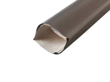 1m Heat-shrinkable Tubing with EMC shield black and Earthing Lead – image 1