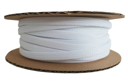 Braided Expandable Sleeving from 2-4mm to 25-50mm white or black – image 13