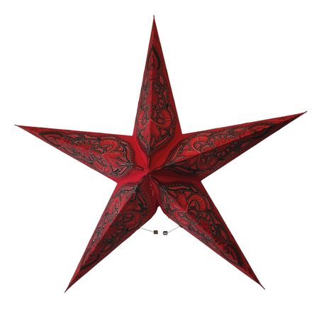 Christmas Hanging Paper Shining Star without Cable – image 25