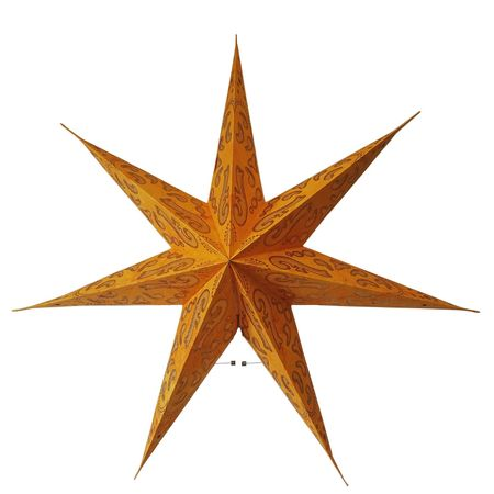 Christmas Hanging Paper Shining Star without Cable – image 5