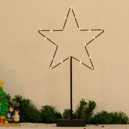 "LED Deco Standard Lamp Table Lamp ""Star"" 20 Lights Indoor – image 2"