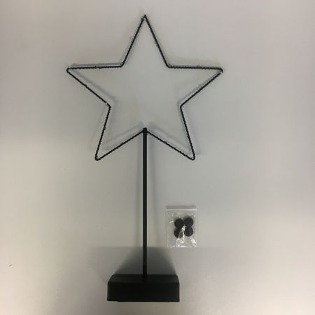 "LED Deco Standard Lamp Table Lamp ""Star"" 20 Lights Indoor – image 4"