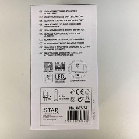 LED Batterie Deko-Beleuchtung Echt-Wachskerze Clary Rankendesign Weiß Auswahl – Bild 7