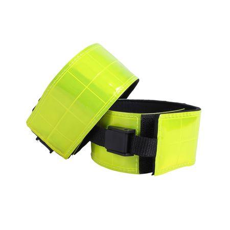 Sicherheit Reflexband für Pferdebeine und Arme des Reiters one size (1 Paar) – Bild 1
