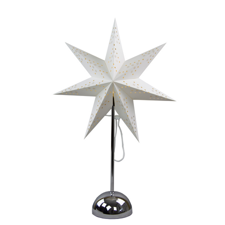 "LED Battery Deco Light Standard and Table Lamp ""Paper Star"" Indoor – image 2"