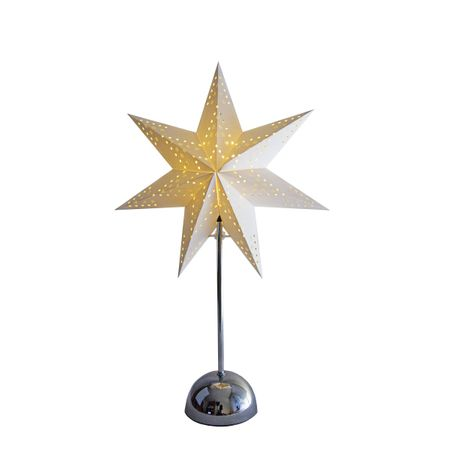 "LED Battery Deco Light Standard and Table Lamp ""Paper Star"" Indoor – image 1"