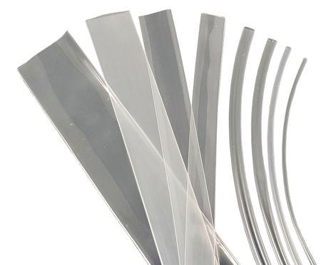 1m Heat-shrinkable Tubing 9mms (3:1) 150°C Transparent