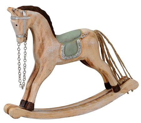Nostalgic Rocking Horse Made of Wood in Various Designs and Sizes – image 3