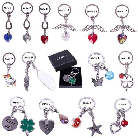 Schlüsselanhänger als Glücksbringer auch als Schmuck f. Fliegenohren/Halfter usw – Bild 1