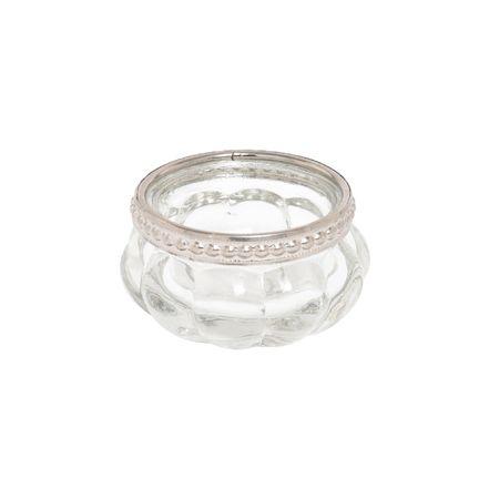 Deko Windlicht Teelichthalter Orient aus Glas mit Metalldekor Auswahl – Bild 8