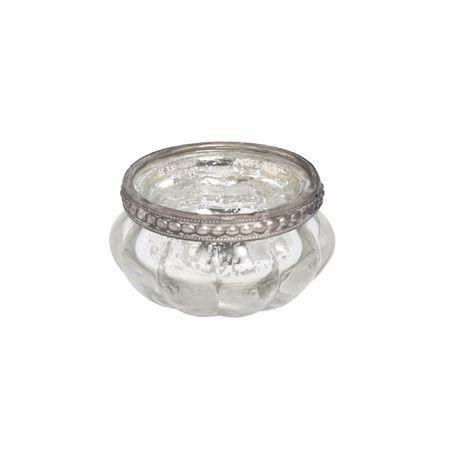 Deko Windlicht Teelichthalter Orient aus Glas mit Metalldekor Auswahl – Bild 10