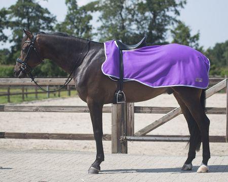 Pferd Zubehör Ausreitdecke aus Fleece Auswahl – Bild 2