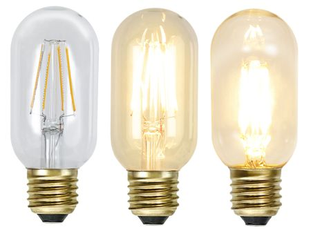 LED Light Bulb Soft Glow ca. 4,5 x 10,8 cm Retro Vintage Edison – image 1