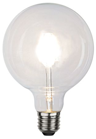 "Extra Large LED Light Bulb ""Filament"" ca. 12,5 x 17,6 cm Retro Vintage Edison – image 2"