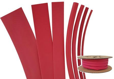 Schrumpfschlauch Rollenware 125°C (2:1) 1,2 bis 101,6 mm verschiedene Farben – Bild 4