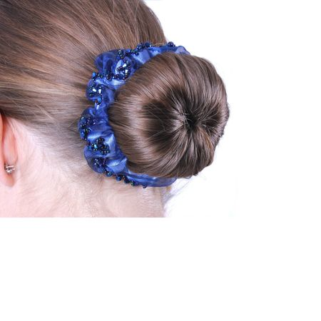 Elegantes Zopfgummi Haarband für Zopf und Haarknoten bei Turnieren – Bild 13