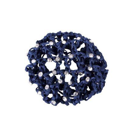 Elegantes Zopfgummi mit Haarnetz ohne Schleife für Turniere – Bild 15