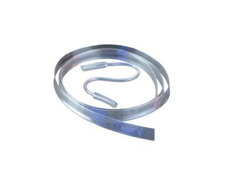 1,2m Heat-shrinkable Tubing PVDF 3,5mm-->1,6mm 175°C HIGH Temperature