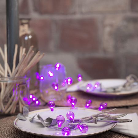 LED Battery Chain of Lights Small Bulbs 20 Lights with Timer Outdoor – image 10