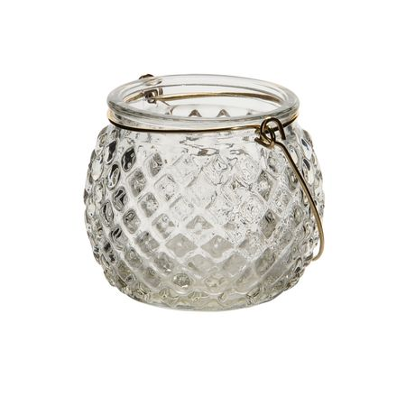 Lantern Various Tealight Holders made of Glass for Hanging Selection – image 7