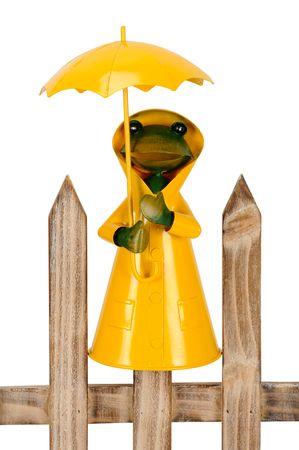 Zaunhocker Zaunfigur Rabe oder Frosch aus Metall, H: 15-25cm versch Designs – Bild 2