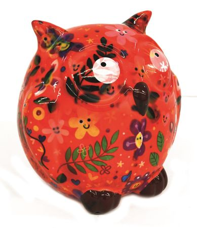 Money Box Owl Ceramics Pomme Pidou Sabo Design – image 2