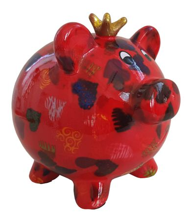 Spardose Schwein aus Keramik Pomme Pidou Sabo Design – Bild 4