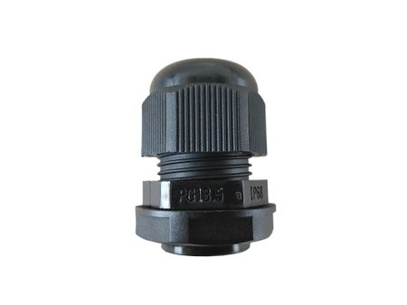 Flexible Cable Gland PG7 3-part black for various cable diameter – image 4