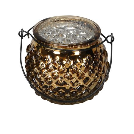 Lantern Tealight Holder made of Glass for Hanging or Spot Selection – image 3