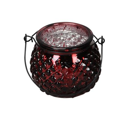 Lantern Tealight Holder made of Glass for Hanging or Spot Selection – image 5