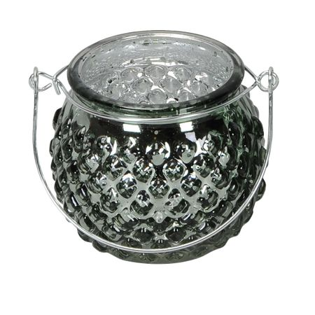 Lantern Tealight Holder made of Glass for Hanging or Spot Selection – image 7