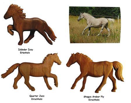 Holz Figur Pferd nach Ihren Wünschen, Ihr Pferd als Figur individuelle Handarbeit – Bild 1