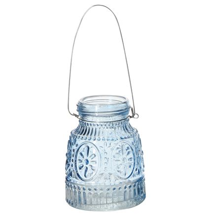 Glass Vase for Hanging or Standing Beautiful Pattern Various Colours – image 4