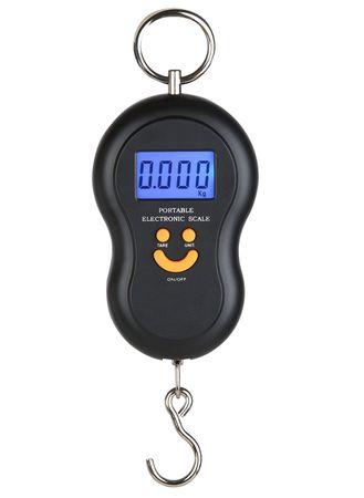 Elektronische Waage Digitale Hängewaage Gepäckwaage Batteriebetrieb max. 45 kg – Bild 1