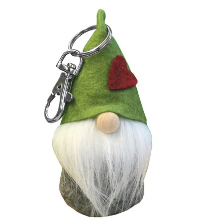 Keyring Tag with Carabiner Gnome Hugo Kedja, Selection – image 3