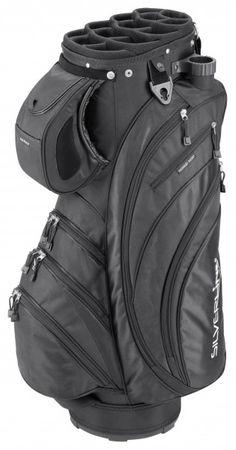 Silverline Golf Cartbag Portland, schwarz – Bild 2