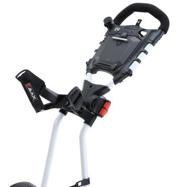 BIG MAX Golf TI 1000 Autofold 3 Rad Push Trolley – Bild 5