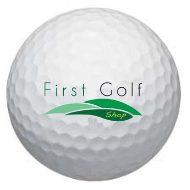 First Golf - Drive Your Life Logobälle - Wilson Staff DX2 Soft Golfbälle (12 Bälle) – Bild 1