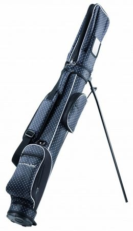 Silverline Golf Pencil-Bag SUNDAY Schwarz/Weiss – Bild 2