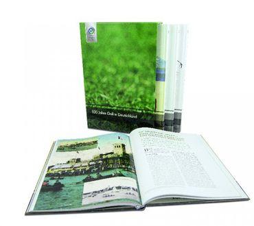 100 Jahre Golf in Deutschland - Chronik aus vier hochwertigen Bänden im Schuber – Bild 1