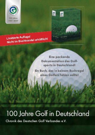 100 Jahre Golf in Deutschland - Chronik aus vier hochwertigen Bänden im Schuber – Bild 6