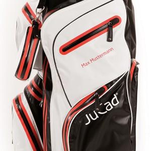 Personalisierung von JuCad Golfbags, Schirmen und Transporttaschen – Bild 1