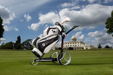 Motocaddy C-TECH Lithium Akku Design Golftrolley – Bild 2