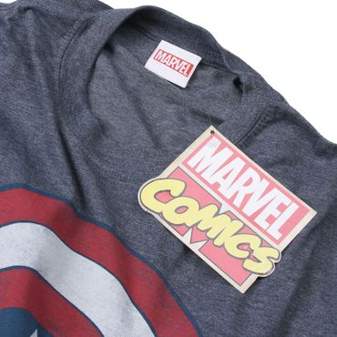 Marvel Comics - Captain America Shield T-Shirt – Bild 2