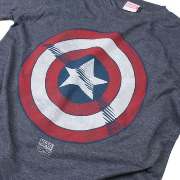 Marvel Comics - Captain America Shield T-Shirt – Bild 3