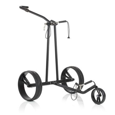 JuCad Phantom black on black Golf Elektrotrolley – Bild 1