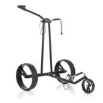 JuCad Phantom black on black Golf Elektrotrolley 001