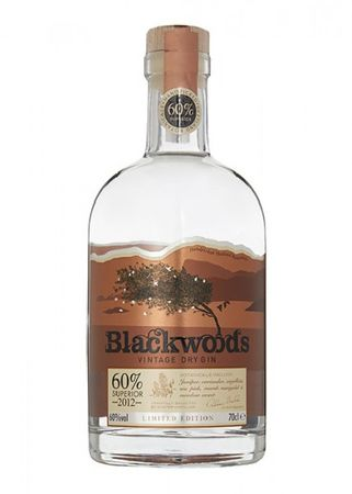 Blackwoods Vintage Dry Gin 60%. Limited edition – Bild 1